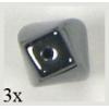 Hematite Twist 6X12mm